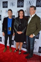 Pierce Brosnan and wife Keely Shaye Smith attended the Soho International Film festival to promote the new documentary