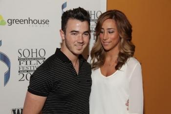 Joe Jonas and wife attended the red carpet of Soho International Film Festival